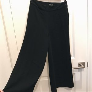 Madewell Silky Pull-On wide leg trouser